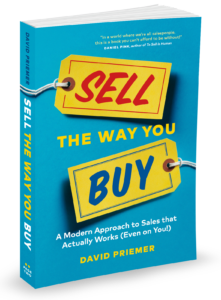 """Sell The Way You Buy"" by David Priemer"